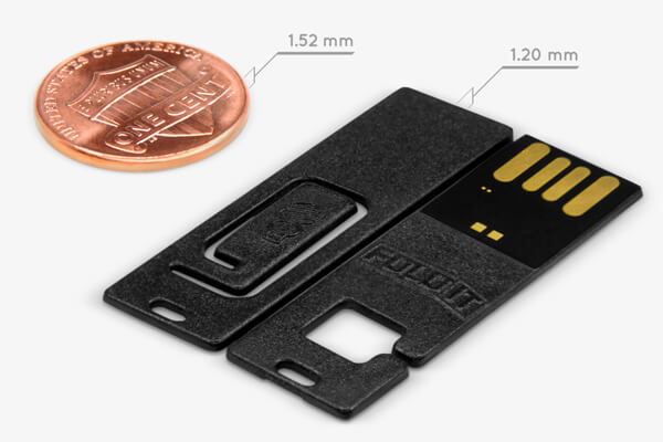 FoldIT USB | Thinner than a Penny